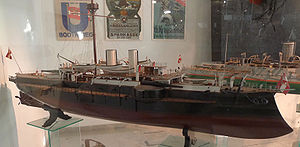 SMS Kronprinz Erzherzog Rudolf - Model of Kronprinz Erzherzog Rudolf