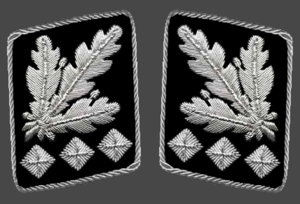 Register of SS-Leaders in general's rank - Gorget patches (Allgemeine-SS, Waffen-SS)