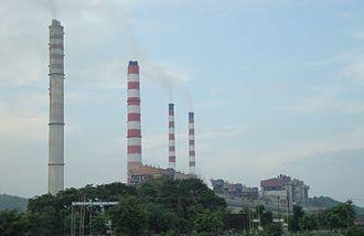 Sonbhadra district - Singrauli Super Thermal Power Station at Shaktinagar in Sonbhadra