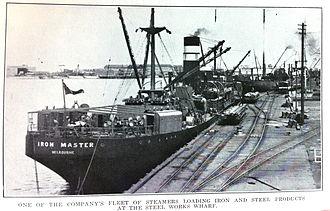BHP Shipping - Image: SS Iron Master 1930