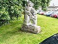 ST. MARTIN DE PORRES SCULPTURE BY JAMES McKENNA (AT ST. MARY'S CHURCH ON CLADDAGH QUAY IN GALWAY)-154401.jpg