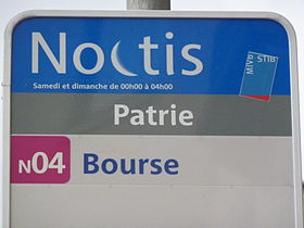 Image illustrative de l'article Noctis (STIB)