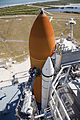 STS-133 External Tank repair on Launch Pad 39A.jpg