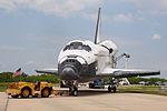 STS-135 Atlantis towback 4 (5963608474).jpg