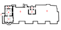 Saadian tombs plan with numbers.png