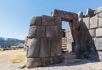 Cusco - Sacsayhuamán is an Inca ceremonial fortress located two kilometers north from Cusco, is the greatest architectural work done by the Incas during its apogee.