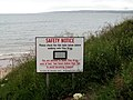 Safety Notice - geograph.org.uk - 469013.jpg