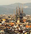Sagrada Familia Eixample from Montjuic.jpg