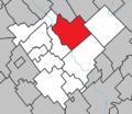 Saint-Joseph-de-Beauce Quebec location diagram.png