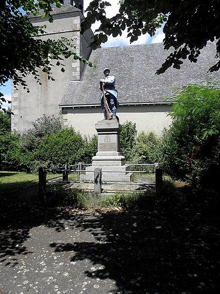 Monument aux morts de Saint-Loup-du-Gast (53).