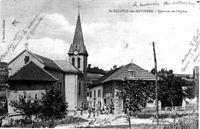 Saint-Sulpice-des-Rivoires quartier de l'église, 1908, p230 de L'Isère les 533 communes.jpg