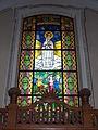 Saint Bartholomew church. Listed 5694. Stained glass 06. - Gyöngyös, Hungary.JPG