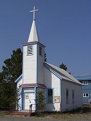 Saint John the Baptist Catholic Church, Carcross, Yukon.jpg