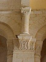 Saintes (17) Basilique Saint-Eutrope Intérieur Chapiteau 22.JPG