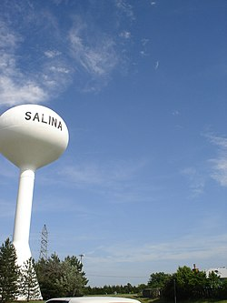 Salina watertower 2006.JPG