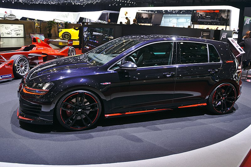file salon de l 39 auto de gen ve 2014 20140305 abt golf vii gti dark edition. Black Bedroom Furniture Sets. Home Design Ideas