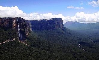 Guiana Shield - Devil's Canyon in the Canaima National Park, Venezuela