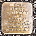 Salzburg - Lehen - Gaswerkgasse 24 - 2017 04 12 - Stolperstein Theresia Flachberger.jpg