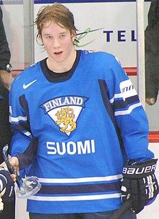 Sami Vatanen Finnish ice hockey player