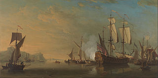 Shipping off Dover
