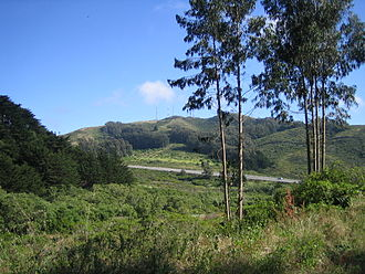 San Bruno Mountain - View from San Bruno Mountain State Park