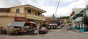 San Ignacio, Belize - Image: San Ignacio Town Street, Belize
