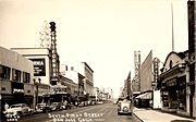 San Jose, California, South First Street, 1940s