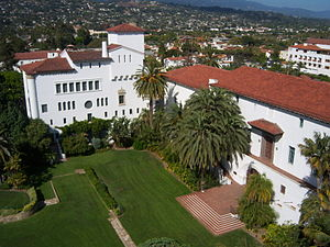 Santa Barbara County, California - Image: Santa Barbara County Courthouse