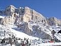 Santa Croce Church(Pedraces) - Santa Croce Peak 2999m - panoramio.jpg