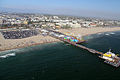 Santa Monica Beach with pier 3.JPG