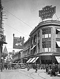 Vista do Paseo Ahumada, no centro da cidade, no fim da década de 1920.