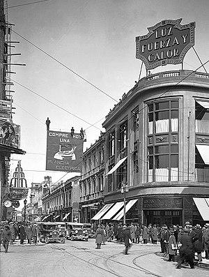 Santiago de Chile at 1929