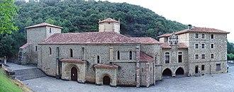 Camaleño - Monastery of Santo Toribio de Liébana in Camaleño.