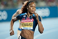 Sanya Richards-Ross i Daegu 2011