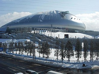 Hokkaido Nippon-Ham Fighters - Sapporo dome, the current ballpark of the Fighters