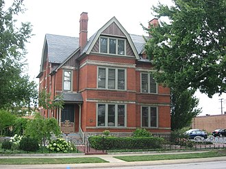 National Register of Historic Places listings in Cleveland - Image: Sarah Benedict House