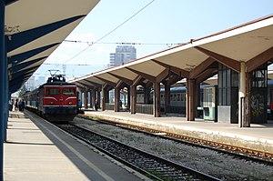 Railways of the Federation of Bosnia and Herzegovina - Train station in Sarajevo