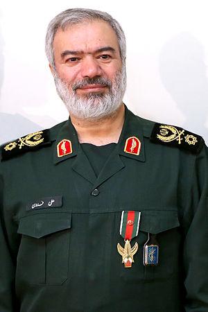 Ali Fadavi - Fadavi and his new Fath Medal