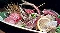 Sashimi dinner of Tokyo; January 2012.jpg