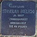 Sassnitz, Mittelstr. 5, Stolperstein Stanislaw Bielecki.jpg