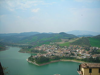 Sassocorvaro - Lake of Mercatale.