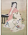 Satsuki (detail) by Ikeda Shōen.jpg