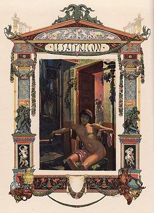 Satyricon - A modern illustration of the Satyricon