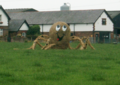 Scarecrow Octopus, Thornton Hough, 2005.png