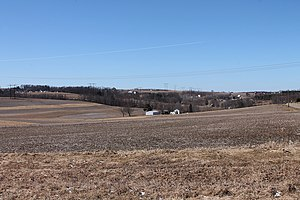 Franklin Township, Columbia County, Pennsylvania - Scenery of Franklin Township from State Route 3012