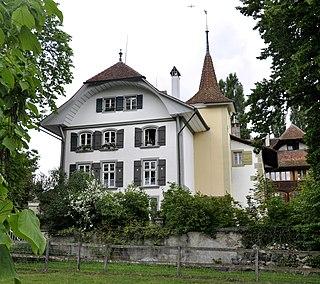 castle in the city of Bern, Switzerland