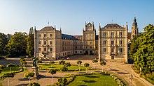 Schloss Ehrenburg in Coburg von 1810 (Quelle: Wikimedia)