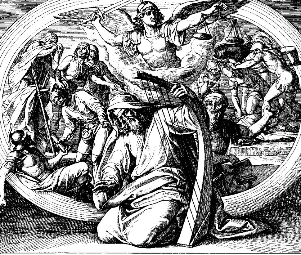 Schnorr von Carolsfeld Bibel in Bildern 1860 135