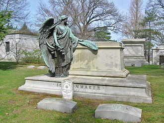Homewood Cemetery - Schoonmaker monument (Jakob Otto Schweizer, sculptor)