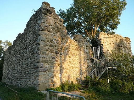 Burgruine Schopflen auf der Insel Reichenau